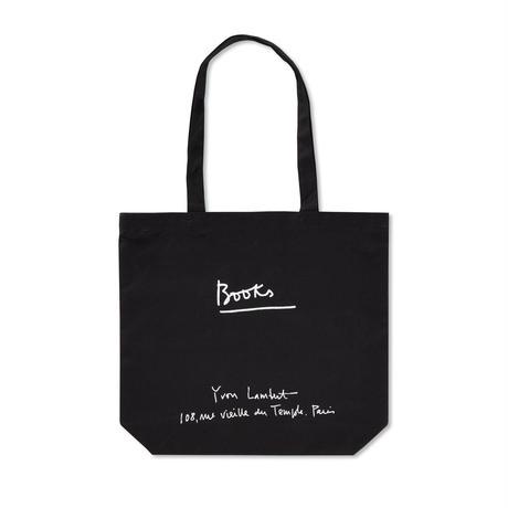 YVON LAMBERT TOTE BAG : REGULAR / BLACK