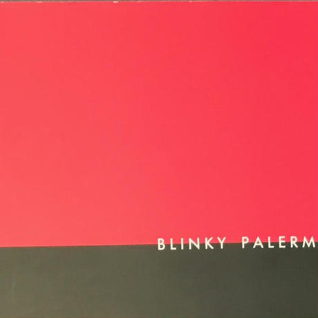 BLINKY PALERMO DIA ART FOUNDATION EXTHIBITION CATALOG 1987