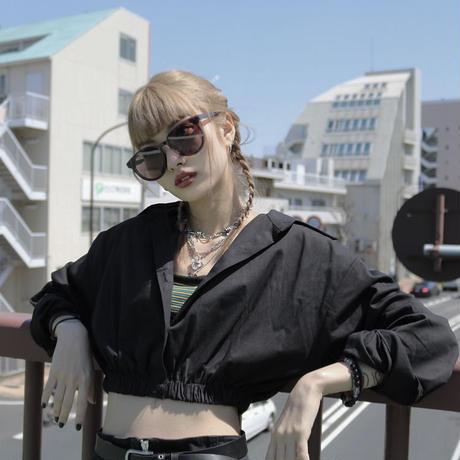 【LR0066】ショート丈シャツ