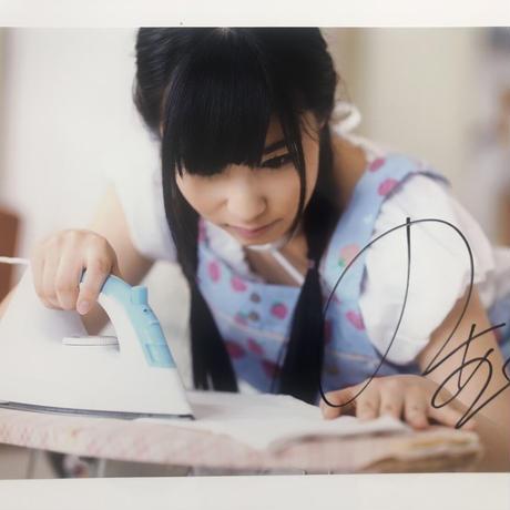 栄川乃亜 サイン付きA3生写真