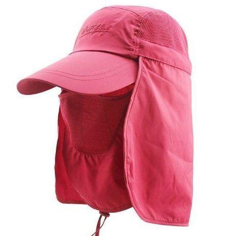 紫外線カット! 3WAY UVカット帽子 日除け
