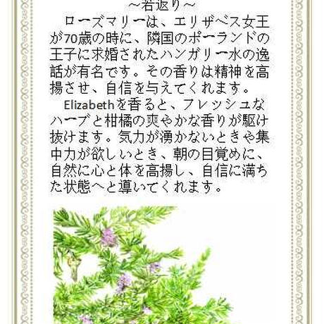 エリザベス精油10ml