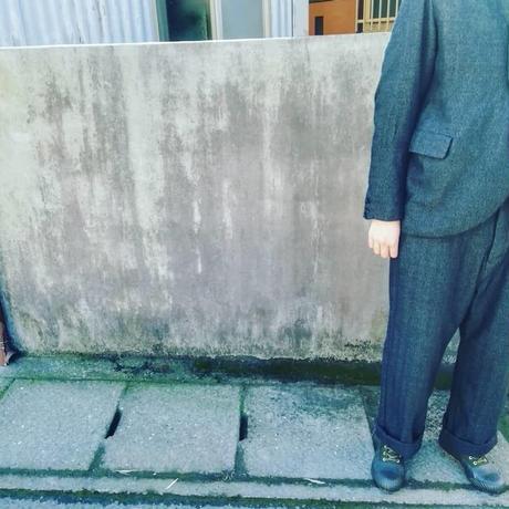 "AU GARCONS "" PAULO "" メンズ/パンツ/へリンボン/日本製"