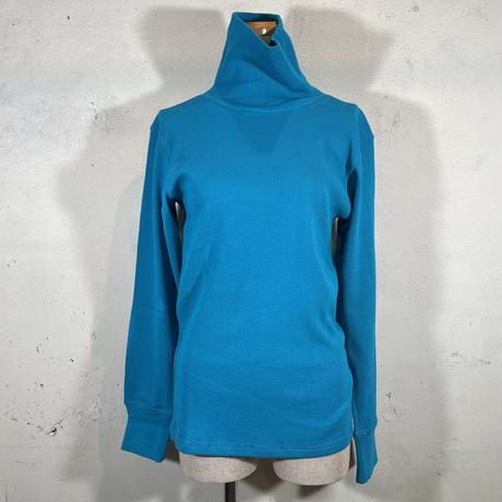 ワッフルタートルネックTシャツ