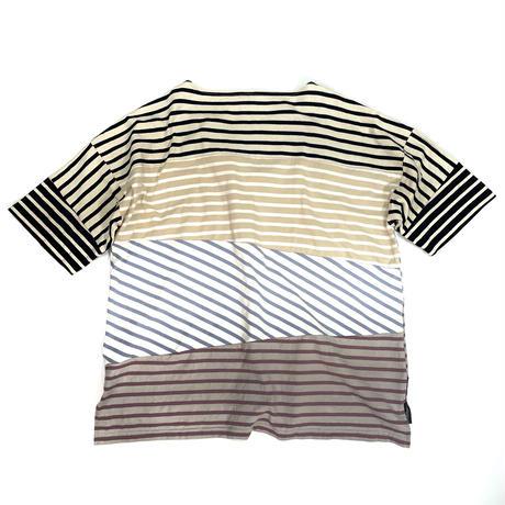 切り替えクレイジーバスクTシャツ