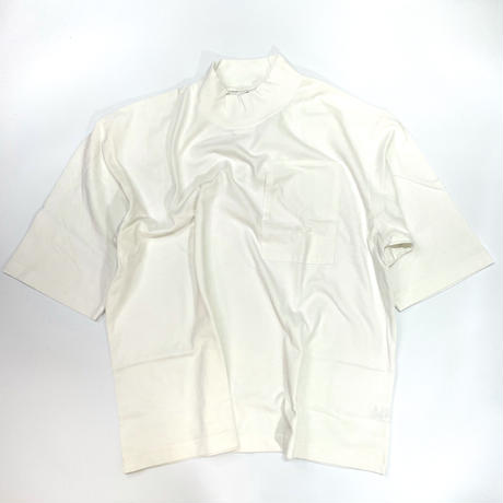 LIFE NEIGHBOR モックネックビッグTシャツ