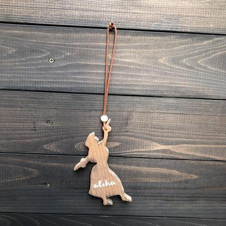 wood charm フラガール