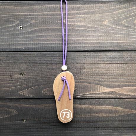 wood charm  ビーサン