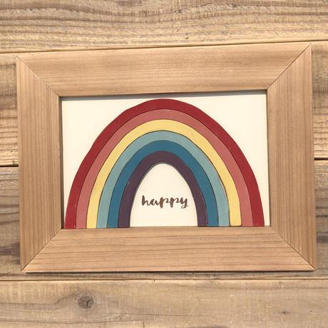 wood board F〜rainbow4〜