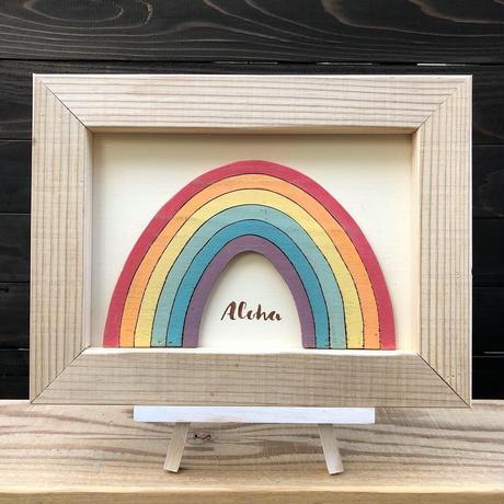 wood board F〜rainbow1〜