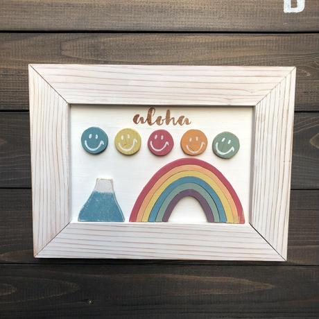 wood board F〜rainbow 4〜