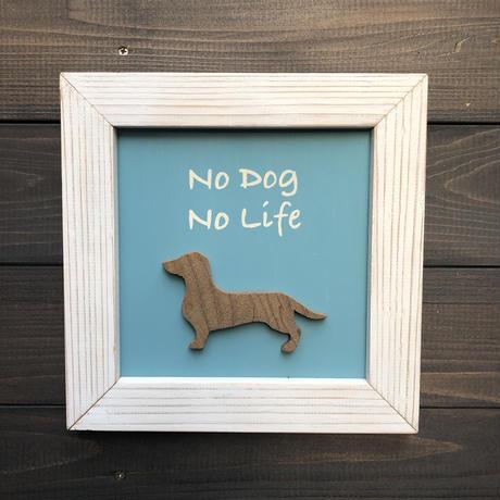 wood board F 〜no dog no life〜