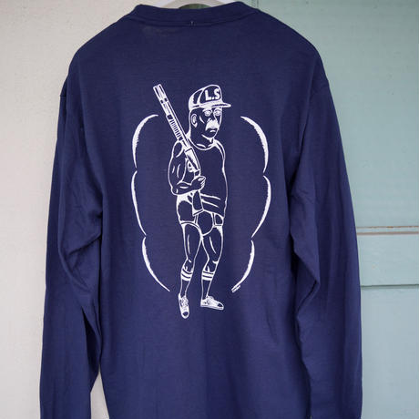 Shotgun  Long Sleeve T-shirts   / Navy