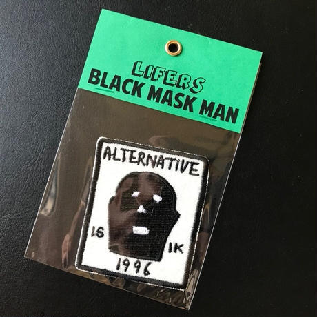 BLACK MASK Patch  / ワッペン