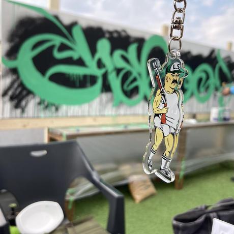ブリーフおじさん  アクリルキーホルダー / Briefs man acrylic key chain