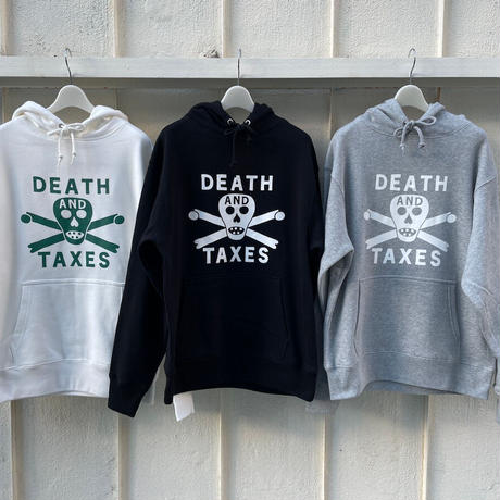 DEATH and TAXES  Sweat  PULLOVER HOODIE