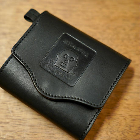 BLACKMASK MAN  LEATHER WALLET  [Reservation] / 予約生産   2月中旬から発送