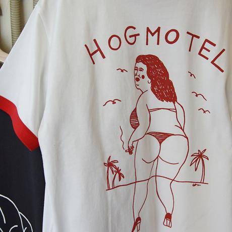 HOG MOTEL Ringer T-shirt