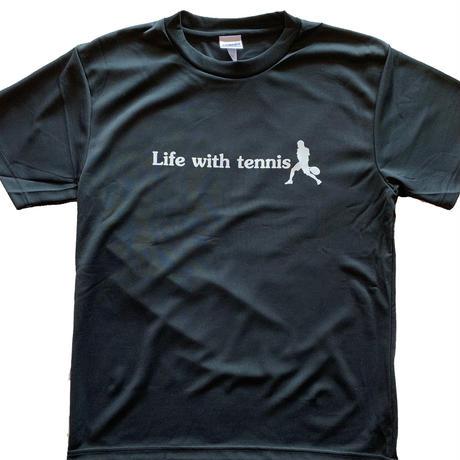 プラクティスTシャツ (BK×Wh)