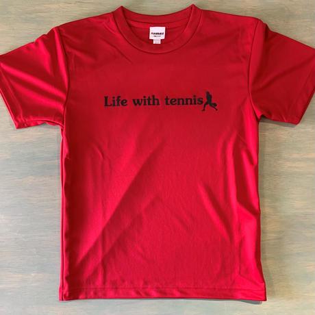 プラクティスTシャツ (Red×Bk)