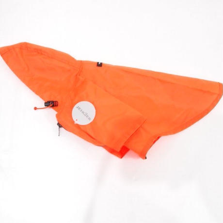 wagwear Nylon Rainbreaker Neon Orange size 8-14