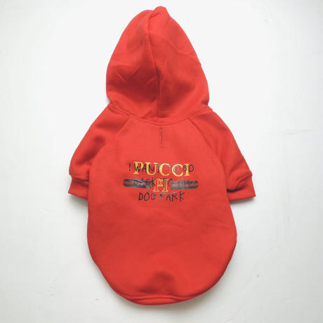 6f8d5d70f Pucci Dog Park Hoodie(RED) | LIFE WITH DOG SHOP