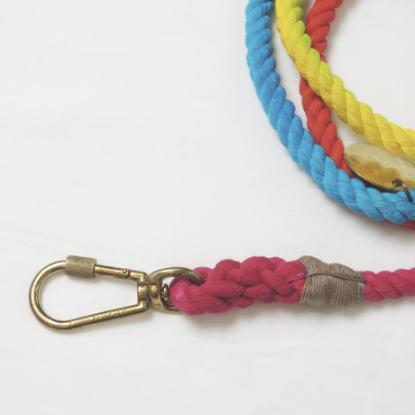 Found My Animal  ADJUSTABLE ROPE LEASH(PRISMATIC )