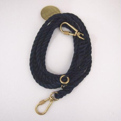 Found My Animal  ADJUSTABLE DOG LEASH(NAVY)