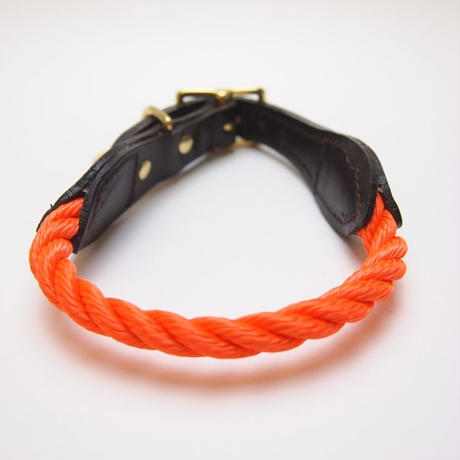 Found My Animal Rope Cat&Dog Collar(RESCUE ORANGE)
