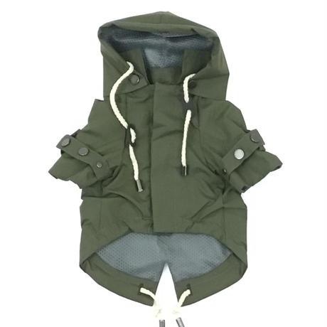 MAX BONE Talon Raincoat-olive