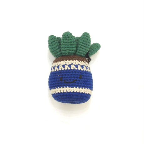 Ware Of The Dog  COTTON CROCHET POTTED PLANT