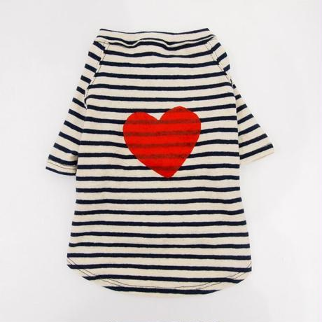 WagWear GRAPHIC NATURAL T-shirt    Heart