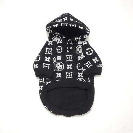 The Monogram Hype Hoodie(BLACK)