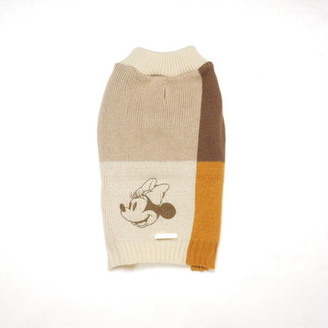 MAX BONE Minnie Mouse Color Blocked Jumper