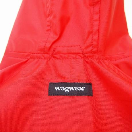 wagwear  Nylon Rainbreaker Red size16-22