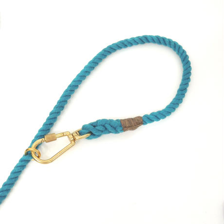 Found My Animal ADJUSTABLE ROPE LEASH(up-cycle/Teal)