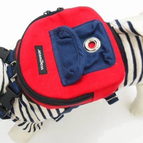 wag wear Canvas Mini Dog Backpack SIZE S
