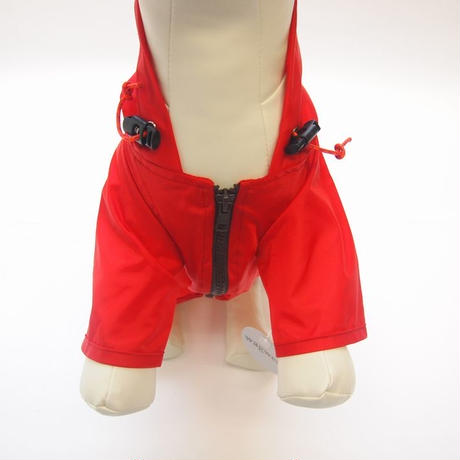 wagwear  Nylon Rainbreaker Red size 8-14