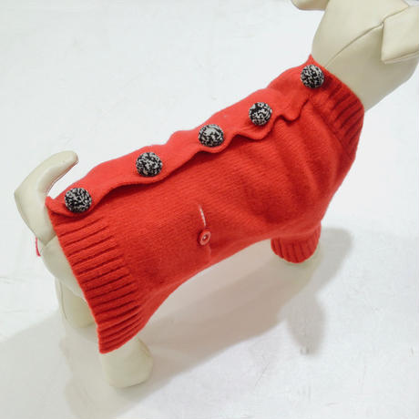 Ware Of The Dog  Pom Pom Cardigan