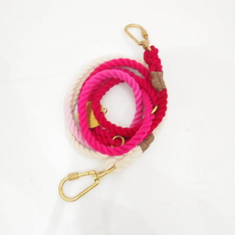Found My Animal ADJUSTABLE DOG LEASH(MAGENTA OMBRE)