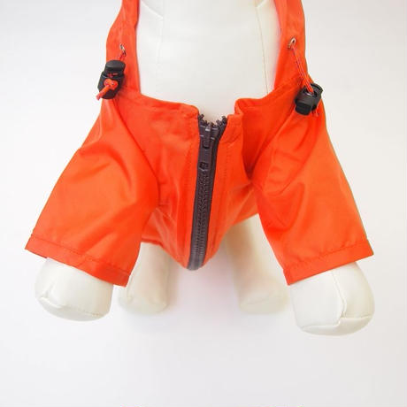 wagwear Nylon Rainbreaker Orange size 16-22