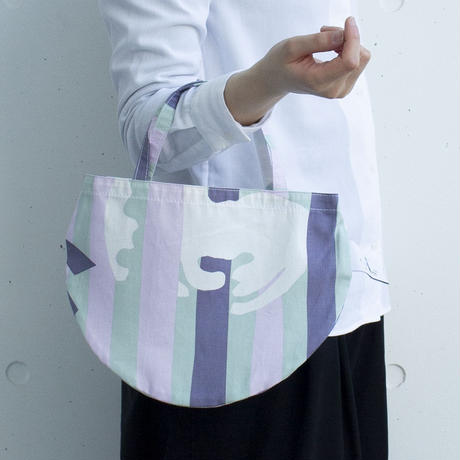 BAG_ミニRトート -DEEP BREATH- (ROSE PINK)