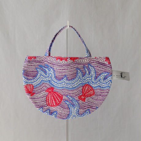 MINI R TOTE            -LITTLE OCEAN- (PURPLE)