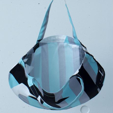 BAG_ミニRトート -DEEP BREATH- (AQUA BLUE)