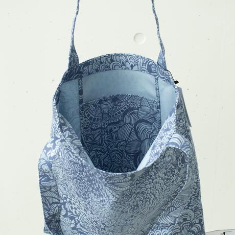 BAG_LCトート -ボタニカル -(ブルー)