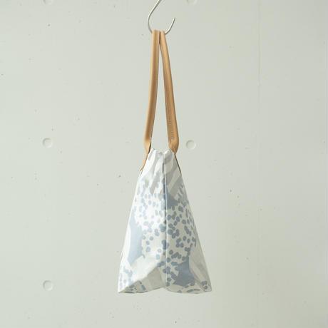 BAG_レザーハンドルトート -SOUFFLE-(BLUE  GRAY)