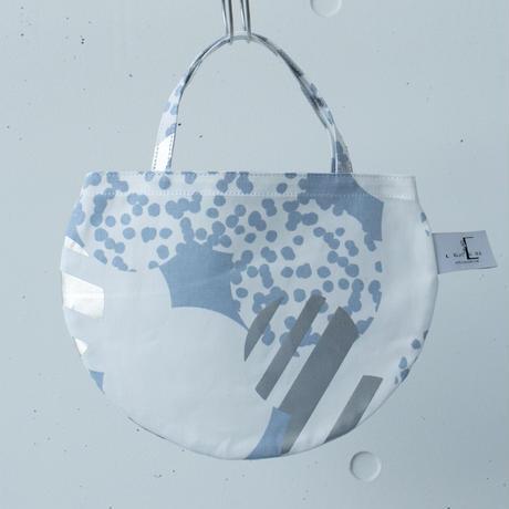 BAG_ミニRトート -SOUFFLE- (BLUE  GRAY)