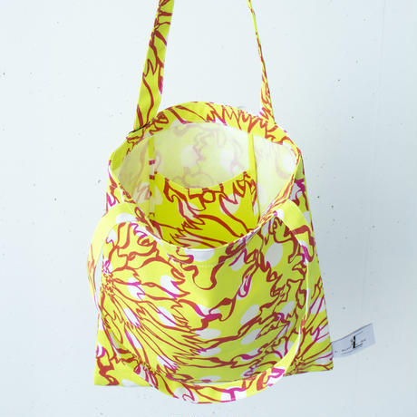 BAG_LCトート -BUBBLE FLOWER- (YELLOW)
