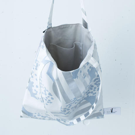 BAG_LCトート -SOUFFLE-(BLUE  GRAY)