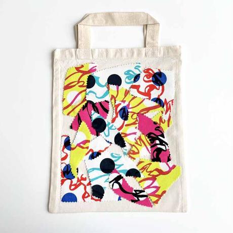 【夏休み応援特別企画】マイエコバッグ製作キット-BUBBLE FLOWER-限定販売